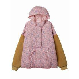 Original floral quilting pullover (PINK)