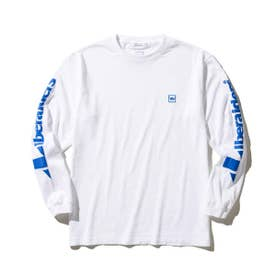 TRIANGLE LOGO L/S TEE (WHITE)