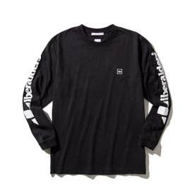 TRIANGLE LOGO L/S TEE (BLACK)