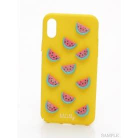 フルーツモチーフiPhoneケース (YELLOW)