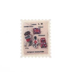 切手 刺繍ブローチ (0)