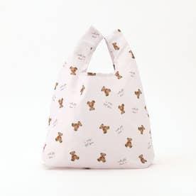 millerun Bear エコバッグ(SMALL)/ mille fille closet (ピンク系)