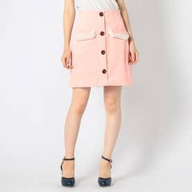 CANDYコーデュロイタイトスカート (ピンク)