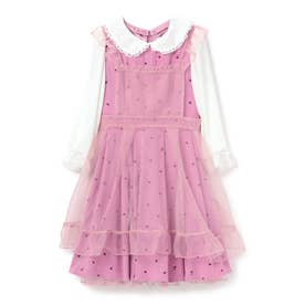 Heartful Heart ワンピース/ mille fille closet (ピンク)