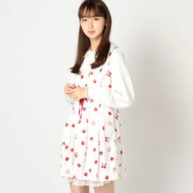 BerryRibbonドールワンピース (シロ)