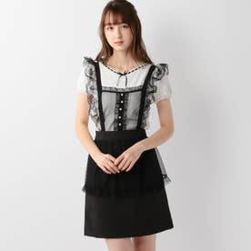 Diner Girlエプロンスカート (クロ)