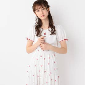 SweetCherryパフTシャツ (シロ)