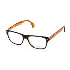 メガネ 眼鏡 アイウェア レディース メンズ (ブラックベージュクロス)