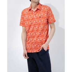 メンズ ゴルフ 半袖シャツ ハンソデシャツ MGMRJA06X (オレンジ)