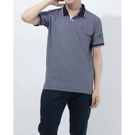 メンズ ゴルフ 半袖シャツ ハンソデシャツ MGMRJA01X (ネイビー)
