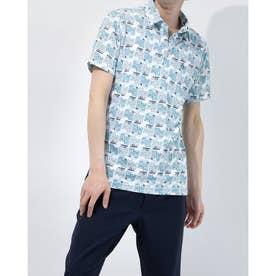 メンズ ゴルフ 半袖シャツ ハンソデシャツ MGMRJA06X (グリーン)