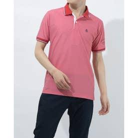 メンズ ゴルフ 半袖シャツ ハンソデシャツ MGMRJA01X (レッド)