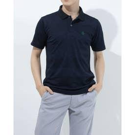 メンズ ゴルフ 半袖シャツ ハンソデシャツ MGMRJA05X (ネイビー)