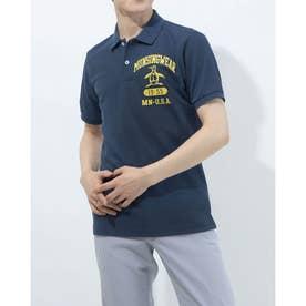メンズ ゴルフ 半袖シャツ ハンソデシャツ MGMRJA04 (ネイビー)
