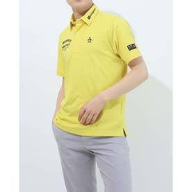 メンズ ゴルフ 半袖シャツ ハンソデシャツ MGMRJA02X (イエロー)
