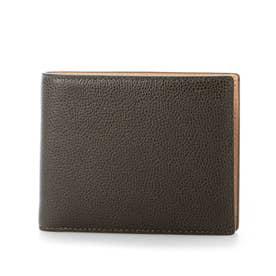 MILAGRO 英国C. F. Stead社製レザー・二つ折り財布(小銭入れ付き) (ダークグリーン)