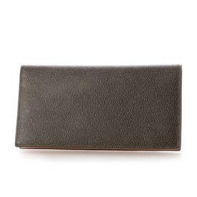 MILAGRO 英国C. F. Stead社製レザー・薄型 長財布 (ダークグリーン)