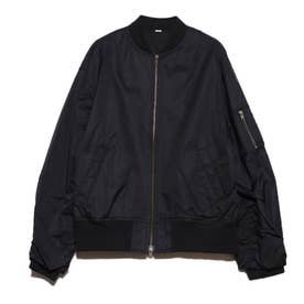 抜け感ライトMA-1 (ブラック)