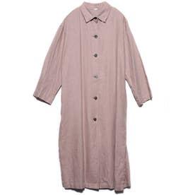 リネンロングシャツライクCT (ピンク)