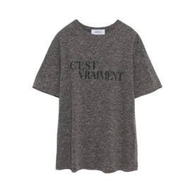 グラフィックロゴプリントTシャツ (GRY)