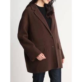ライナー付きジャケットコート (BRW)