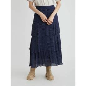 ティアードナロースカート (DOT)