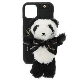 パンダさんアイフォン11Proケース (ブラック)