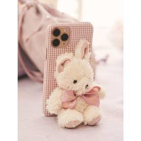 《Easter》ささえてうさぎさんアイフォン11Proケース (ピンク)