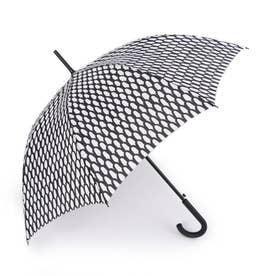 スティックアンブレラ 傘 (オフホワイト×ブラック)
