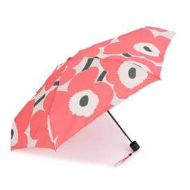 折りたたみ傘 (ウニッコピンク×グリーン)