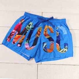 SWIM SHORTS (BLUE)【返品不可商品】