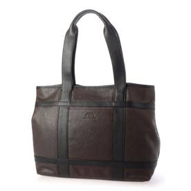 Tote Bag L (DBR/BLK)