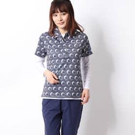 レディース ゴルフ セットシャツ 半袖シャツ+インナー 710506
