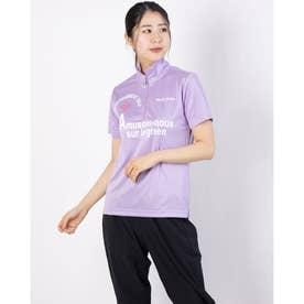 レディース ゴルフ 半袖シャツ 半袖シャツ 711622A (パープル)