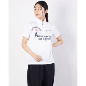 レディース ゴルフ 半袖シャツ 半袖シャツ 711622A (ホワイト)