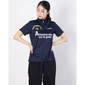 レディース ゴルフ 半袖シャツ 半袖シャツ 711622A (ネイビー)