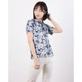 レディース ゴルフ 半袖シャツ 半袖シャツ 711620 (ブラック)
