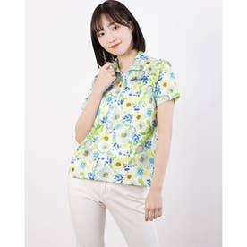 レディース ゴルフ 半袖シャツ 半袖シャツ 711620 (グリーン)