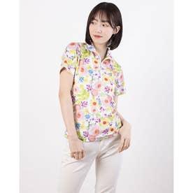 レディース ゴルフ 半袖シャツ 半袖シャツ 711620 (ピンク)