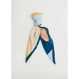 スカーフ .-- ABSTRACT (パステルブルー)