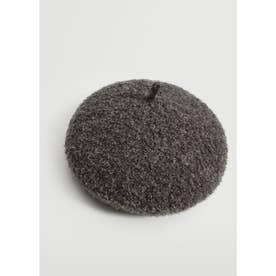 ベレー帽 .-- COZY (パステルグレー)
