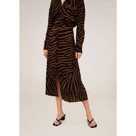 ロングスカート .-- TIGER (ブラック)
