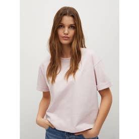 Tシャツ .-- PSTWASH (パステルピンク)