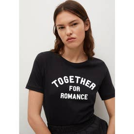 Tシャツ .-- PSTTOGE (ブラック)