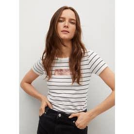 Tシャツ .-- PST(ナチュラルホワイト)