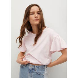 Tシャツ .-- VOLANTE (パステルピンク)
