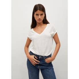 Tシャツ .-- LINITO (ナチュラルホワイト)