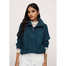 セーター .-- ZIPPY-I (ミディアムブルー)