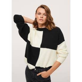 セーター .-- CHISS (ブラック)