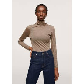 Tシャツ .-- ISABELLA (ブラウン)